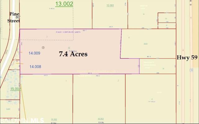 0 Pine Street, Foley, AL 36535 (MLS #282363) :: Jason Will Real Estate
