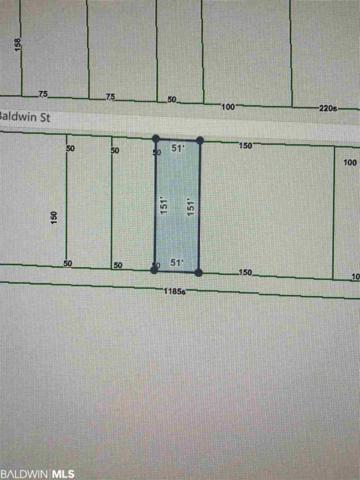 0 Baldwin Street, Perdido Beach, AL 36530 (MLS #287375) :: Jason Will Real Estate