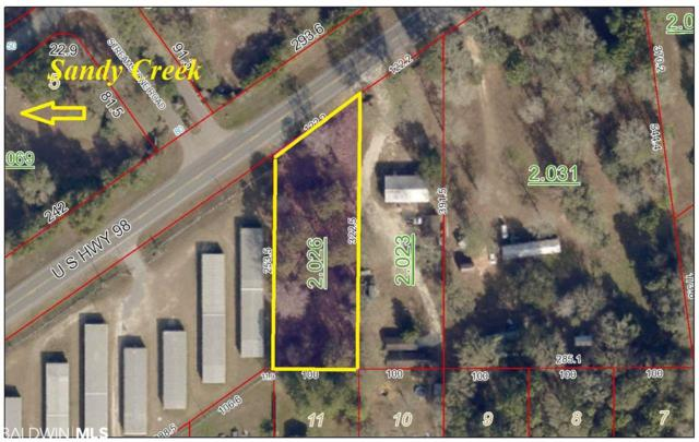 Highway 98, Elberta, AL 36530 (MLS #287481) :: JWRE Powered by JPAR Coast & County