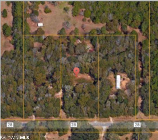 13699 County Road 28, Summerdale, AL 36580 (MLS #287586) :: Jason Will Real Estate