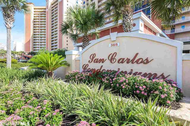 365 E Beach Blvd #705, Gulf Shores, AL 36542 (MLS #288935) :: Gulf Coast Experts Real Estate Team