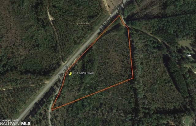 00 Davis Rd, Bay Minette, AL 36507 (MLS #289544) :: Jason Will Real Estate