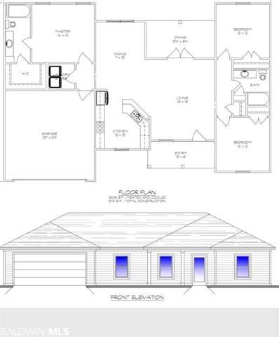 144 Plantation Circle, Summerdale, AL 36580 (MLS #290591) :: Elite Real Estate Solutions
