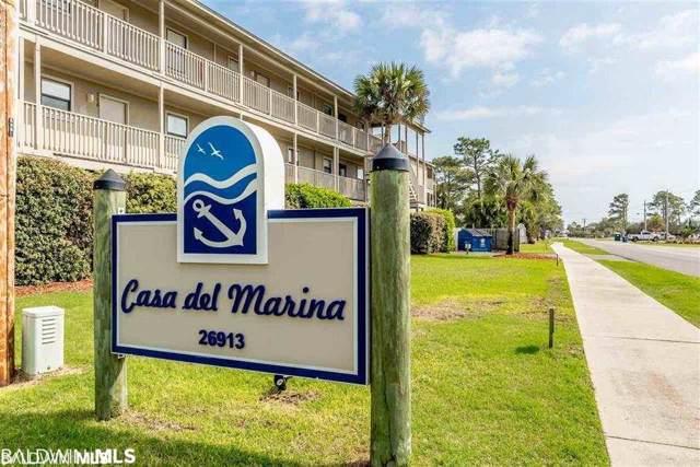 26913 Marina Road #117, Orange Beach, AL 36561 (MLS #290814) :: Dodson Real Estate Group