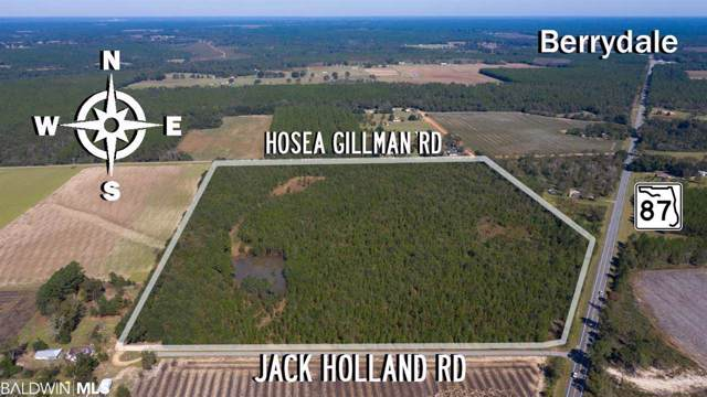 0 Jack Holland Rd, Milton, FL 32570 (MLS #291326) :: Dodson Real Estate Group