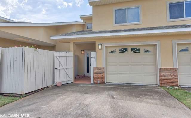 501 Cotton Creek Dr #405, Gulf Shores, AL 36542 (MLS #292404) :: Gulf Coast Experts Real Estate Team