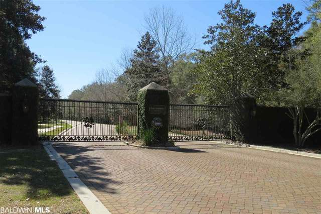 0 Itea Drive, Magnolia Springs, AL 36555 (MLS #294966) :: Dodson Real Estate Group