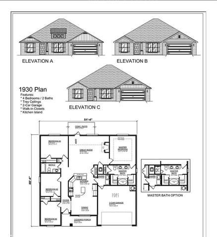 2496 Myrtlewood Drive, Foley, AL 36535 (MLS #295852) :: EXIT Realty Gulf Shores