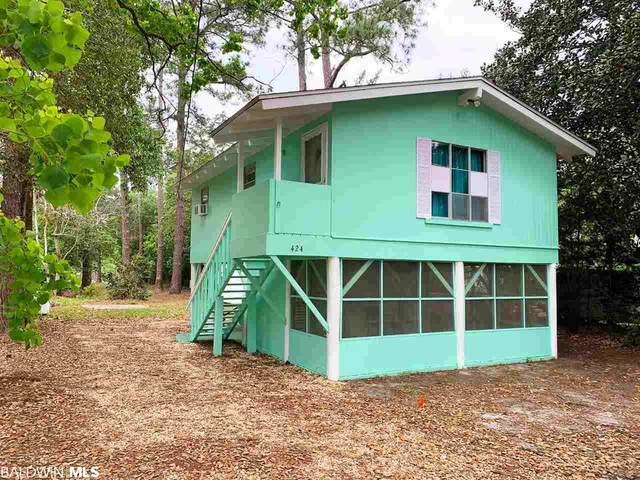 424 W Canal Drive, Gulf Shores, AL 36542 (MLS #297063) :: Elite Real Estate Solutions