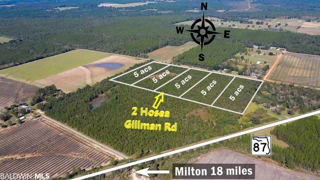 2 Hosea Gillman Rd, Milton, FL 32570 (MLS #297177) :: JWRE Powered by JPAR Coast & County