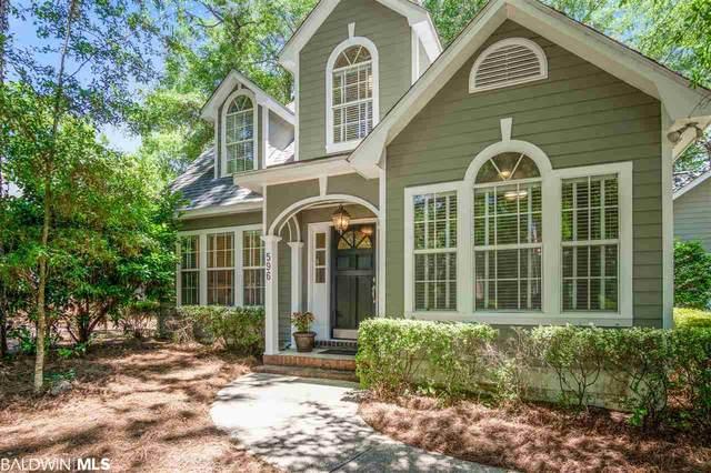 596 Bon Secour Street, Fairhope, AL 36532 (MLS #297874) :: Dodson Real Estate Group