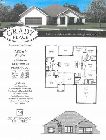 102345 Grady Lane, Mobile, AL 36695 (MLS #300089) :: Elite Real Estate Solutions
