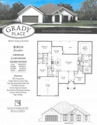 10198 Grady Lane, Mobile, AL 36695 (MLS #300099) :: Elite Real Estate Solutions