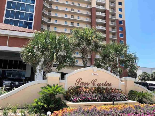 365 E Beach Blvd #608, Gulf Shores, AL 36542 (MLS #301844) :: Elite Real Estate Solutions