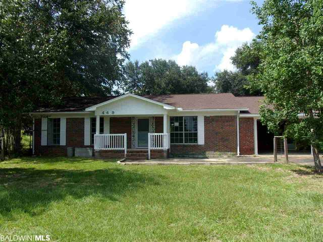 449 Old Highway 31, Flomaton, AL 36441 (MLS #302675) :: The Kathy Justice Team - Better Homes and Gardens Real Estate Main Street Properties