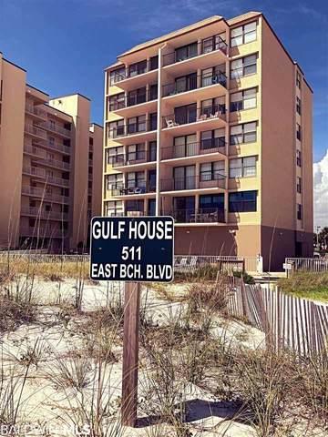 511 E Beach Blvd #406, Gulf Shores, AL 36542 (MLS #303835) :: Coldwell Banker Coastal Realty