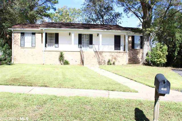 405 Pennington Circle, Mobile, AL 36606 (MLS #305372) :: Dodson Real Estate Group