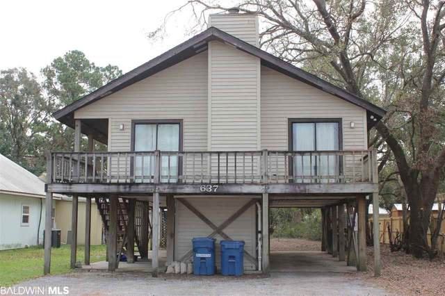 637 E Canal Drive, Gulf Shores, AL 36542 (MLS #305443) :: Coldwell Banker Coastal Realty