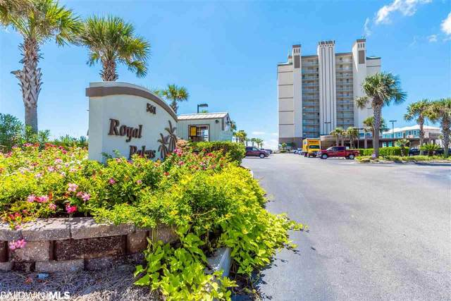 561 E Beach Blvd #702, Gulf Shores, AL 36542 (MLS #305983) :: Coldwell Banker Coastal Realty