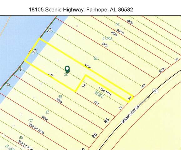 18105 Scenic Highway 98, Fairhope, AL 36532 (MLS #306047) :: Coldwell Banker Coastal Realty