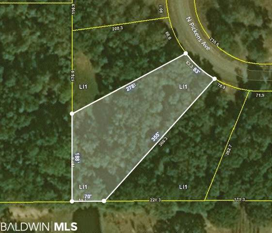 0 N Pickens Av, Lillian, AL 36549 (MLS #306829) :: JWRE Powered by JPAR Coast & County