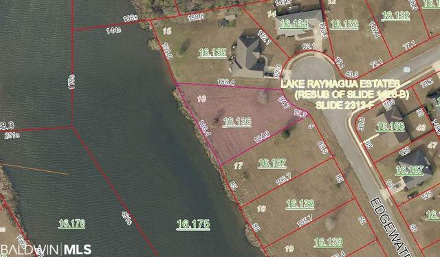Lot 16 Edgewater Circle, Loxley, AL 36551 (MLS #308503) :: Bellator Real Estate and Development