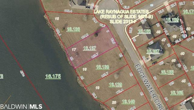 Lot 17 Edgewater Circle, Loxley, AL 36551 (MLS #308504) :: Sold Sisters - Alabama Gulf Coast Properties