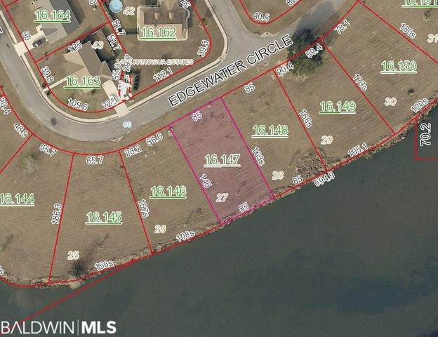 Lot 27 Edgewater Circle, Loxley, AL 36551 (MLS #308507) :: Bellator Real Estate and Development