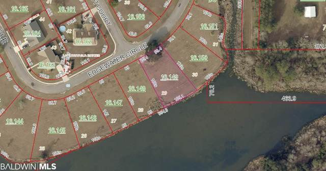 Lot 29 Edgewater Circle, Loxley, AL 36551 (MLS #308509) :: Sold Sisters - Alabama Gulf Coast Properties