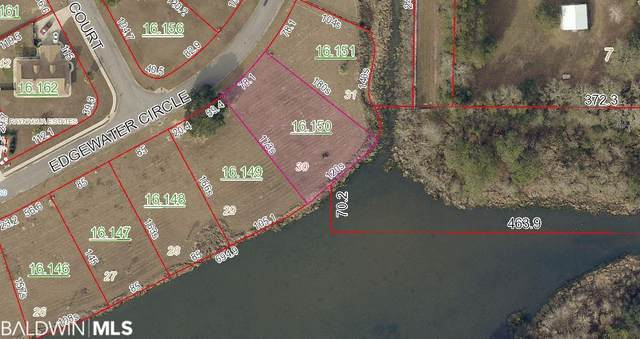Lot 30 Edgewater Circle, Loxley, AL 36551 (MLS #308510) :: Sold Sisters - Alabama Gulf Coast Properties