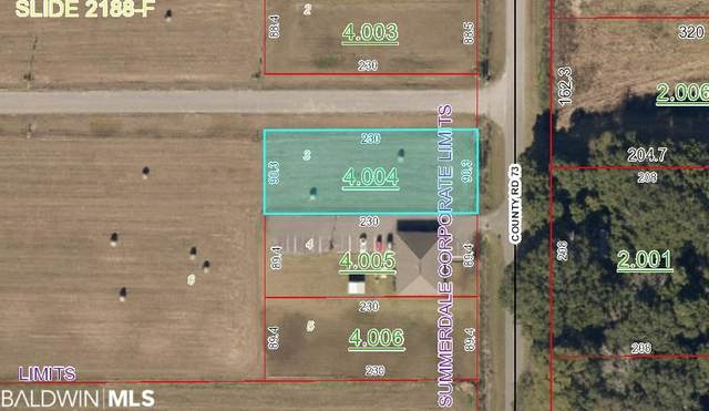 0 County Road 73, Summerdale, AL 36580 (MLS #308908) :: Sold Sisters - Alabama Gulf Coast Properties