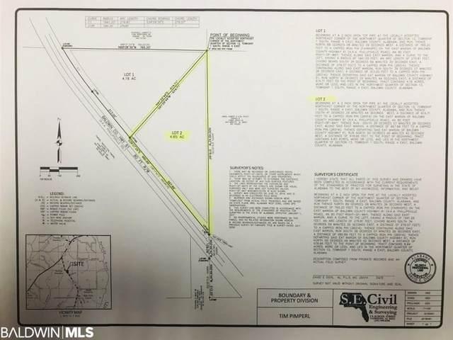 2 Phillipsville Rd, Bay Minette, AL 36507 (MLS #308934) :: Ashurst & Niemeyer Real Estate