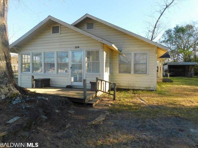 506 E Horner Street, Atmore, AL 36502 (MLS #310429) :: Dodson Real Estate Group
