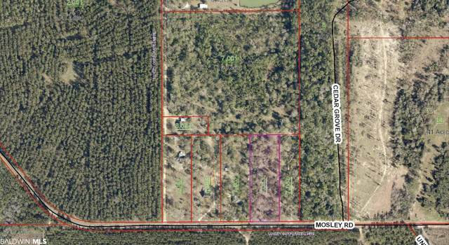0 Mosley Road, Stapleton, AL 36578 (MLS #311774) :: Gulf Coast Experts Real Estate Team