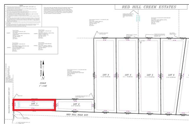 LOT 1 Red Hill Rd Ext, Bay Minette, AL 36507 (MLS #313253) :: Elite Real Estate Solutions