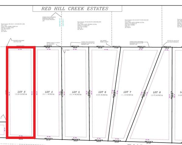 LOT 3 Red Hill Rd Ext, Bay Minette, AL 36507 (MLS #313258) :: Elite Real Estate Solutions