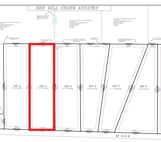 LOT 4 Red Hill Rd Ext, Bay Minette, AL 36507 (MLS #313262) :: Elite Real Estate Solutions