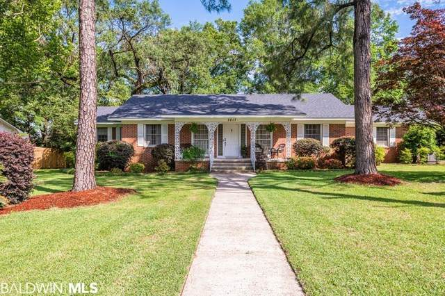 1017 Hillcrest Lane, Mobile, AL 36693 (MLS #313854) :: Sold Sisters - Alabama Gulf Coast Properties