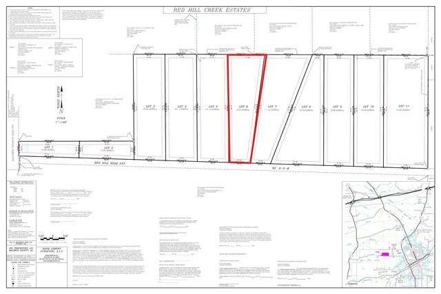 LOT 6 Red Hill Rd Ext, Bay Minette, AL 36507 (MLS #313935) :: The Kim and Brian Team at RE/MAX Paradise