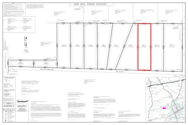 LOT 9 Red Hill Rd Ext, Bay Minette, AL 36507 (MLS #313939) :: The Kim and Brian Team at RE/MAX Paradise