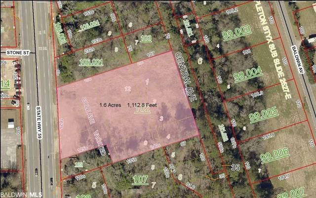 0 Highway 59, Stapleton, AL 36578 (MLS #313981) :: Bellator Real Estate and Development