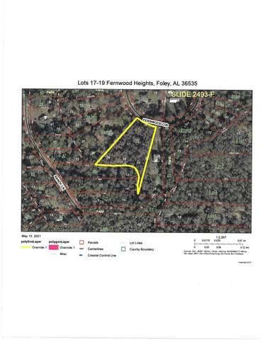 0 Fernwood Circle, Foley, AL 36535 (MLS #314238) :: Elite Real Estate Solutions