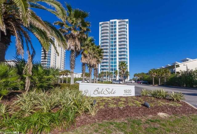 1920 W Beach Blvd #1601, Gulf Shores, AL 36542 (MLS #315681) :: Gulf Coast Experts Real Estate Team