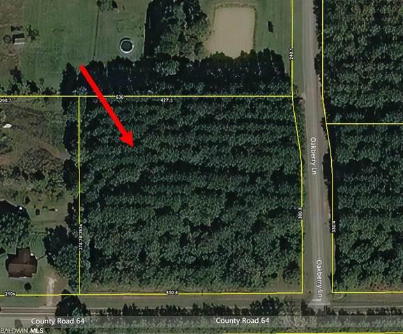 Lot 1 County Road 64, Robertsdale, AL 36567 (MLS #317298) :: EXIT Realty Gulf Shores