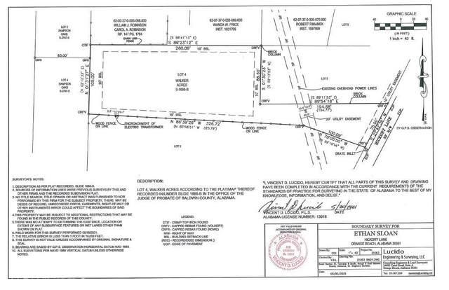 0 Hickory Ln, Orange Beach, AL 36561 (MLS #317785) :: Crye-Leike Gulf Coast Real Estate & Vacation Rentals