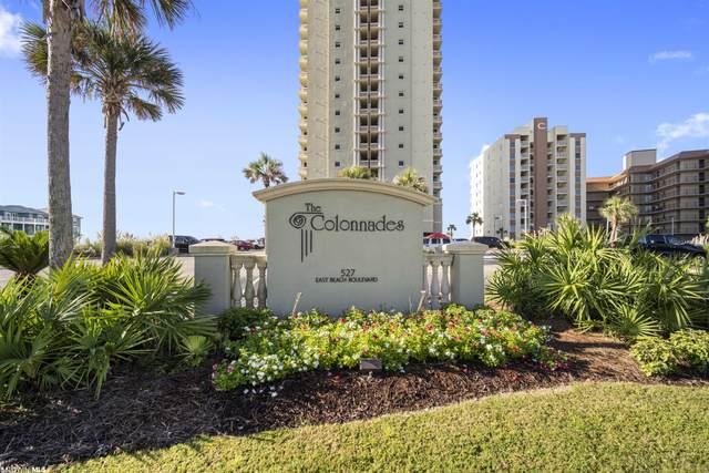 527 E Beach Blvd #1201, Gulf Shores, AL 36542 (MLS #318868) :: RE/MAX Signature Properties