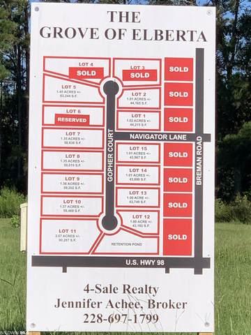 Lot 11 Gopher Court, Elberta, AL 36530 (MLS #319955) :: Elite Real Estate Solutions