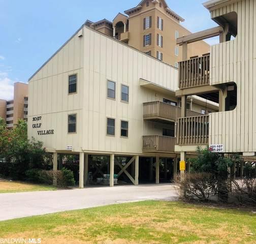 1027 West Blvd #108, Gulf Shores, AL 36542 (MLS #321580) :: Alabama Coastal Living