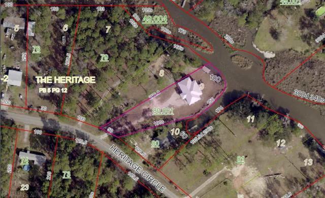 5928 Heritage Circle, Bon Secour, AL 36511 (MLS #266340) :: Elite Real Estate Solutions