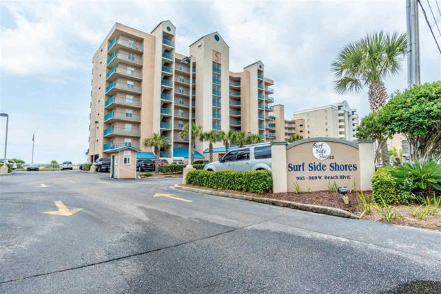 969 W Beach Blvd #1706, Gulf Shores, AL 36542 (MLS #270530) :: Elite Real Estate Solutions